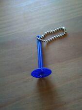 Tupperware Püriermeister Kartoffelstampfer blau Schlüsselanhänger Miniatur