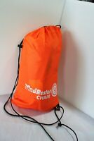 Wind Rester Chair UST Self Inflating Camping Beach Chair Orange New W/O Box