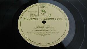 Nic Jones PENGUIN EGGS 1980 UK LP 1st Press  Topic ONE PLAY  MINT HEAR