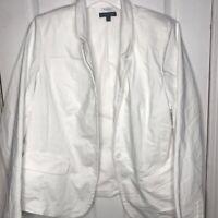 Lane Bryant The Modernist Collection Womens Blazer White Stretch Plus 20 New