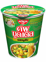Nissin YUMMY Minced Pork Flavour Instant CUP Noodle HIKING FOOD Camp Meals 60g