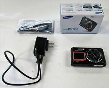 SAMSUNG DV100 16.1MP Dual LCD HD Digital Camera w/Charger   Original Box