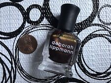 DEBORAH LIPPMANN Nail Polish  * YA GOT TROUBLE * .27 oz Fashion Size