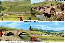 Yorkshire: Swaledale, Multiview - Unposted c.1960's