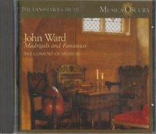C.D.MUSIC  D992   THE FANSHAWE CIRCLE :JOHN WARD MADRIGALS AND FANTASIAS  CD