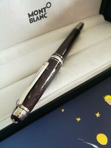 Montblanc Meisterstuck Le Petit Prince Ballpoint Pen Signature brown