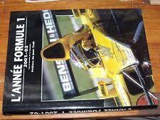 $$$ LivreL'année Formule 1 2001-02Luc DomenjozJean Todt