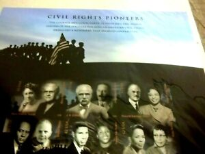 CIVIL RIGHTS PIONEERS, STAMPS