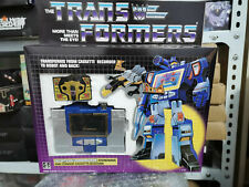 New Transformers G1 Reissue Deception Soundwave & Buzzsaw Action Figures Boxed