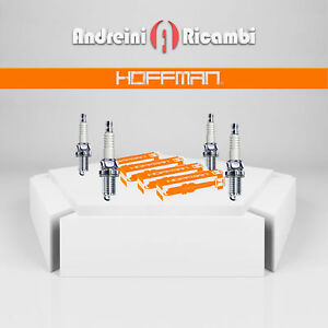 KIT 4 CANDELE ACCENSIONE PER NISSAN NOTE 1.2 59KW 80CV DAL 2013 -> HXEH20SS