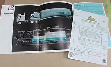 Old 1968 Childers Mfg Asphalt Portable Storage Heating Units Brochure FREE S/H