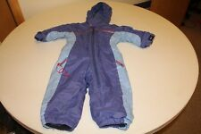 REI 18 month one piece purple snow suit great growth tuck fleece lined