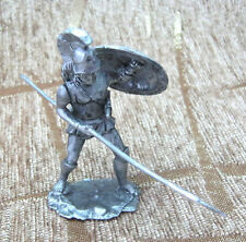 Awesome 54mm 1:32 Tin Figurine Soldier Collection Toy Goplite warrior
