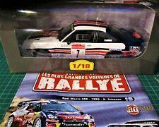 1/18 Opel Manta 400 #1 Rally San Remo 1985 4e Toivonen Ixo Altaya n°80