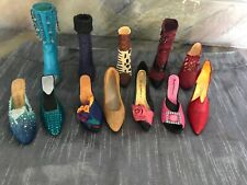 Set Of 10 Just The Right Shoe, By Raine
