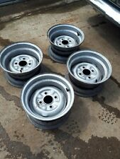 ford 12 7j banded steel wheels lotus cortina escort 4x108