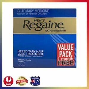 Regaine Men's Extra Strength Treatment 4 x 60mL