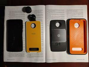 Motorola Moto Z4 - 128GB - Flash Gray (Unlocked) projector Moto mod-36o camera