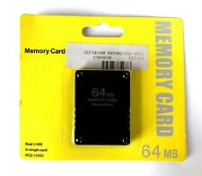 SONY PLAYSTATION 2 PS2 64MB MEMORY CARD NEW MINT SEALED MISB HC2-10020