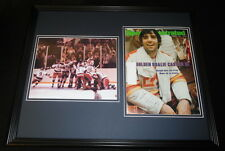 Jim Craig Signed Framed 1980 Sports Illustrated Cover Display Miracle on Ice B