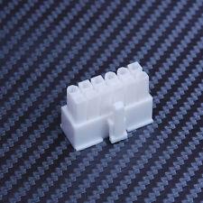 Shakmods 12 Broches Femelle Alimentation Électrique Connecteur Blanc + Gratuit