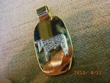 Wempe 750 gold-brillant Zodiac Pendant
