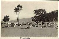 Kairo Cairo Ägypten Egypt ~1920/30 Gizeh Cimitery in desert Wüstengräber Gräber