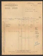 """PARIS (IV°) PRODUITS de BEAUTE / COSMETIQUE """"PARFUMERIE LESQUENDIEU"""" en 1947"""