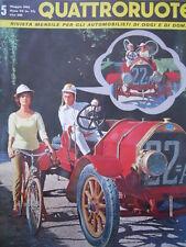 Quattroruote n°5 1962   - Test su strada Autobianchi Bianchina Panoramica[Q79A]