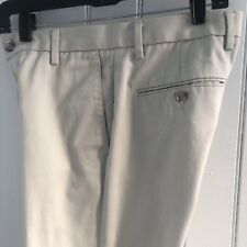 Dockers Pants Mens 29 /29 Slim Fit Flat Front Dress Casual Stone Khaki Chinos f6