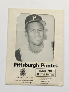 Mid 1960s Pittsburgh Pirates Picture Pack w/ Clemente & Original Envelope