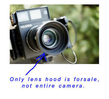 Hood lens for Polaroid 600SE Camera 150mm lens blocks stray light into the lens