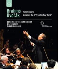 Brahms/Dvorak: Violin Concerto/Symphony No.9 (Abbado) Blu-ray NEW