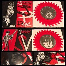 """JIMMY PAGE & SONNY VINCENT~Sawblade 6""""/500/CD/Promo~rock Led Zeppelin Testors"""