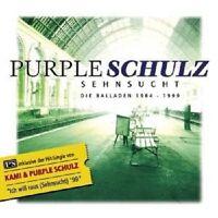 """PURPLE SCHULZ """"SEHNSUCHT/DIE BALLADEN 1984-1999"""" CD NEU"""