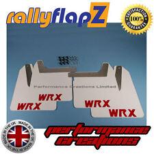 RallyflapZ SUBARU IMPREZA NEW AGE Bugeye (01-07) parafanghi Bianco WRX Rosso 4mm PVC