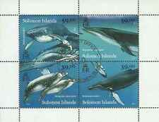 Timbres Faune marine Baleines Salomon 1331/4 o année 2012 lot 12760