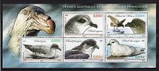 TAAF FSAT French Antarctic 2009 Petrel Birds Oiseau Sheet  MNH ** SUP