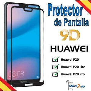 Protector Pantalla Huawei P20 / P20 Lite / P20 Pro Cristal Templado 9D Completo