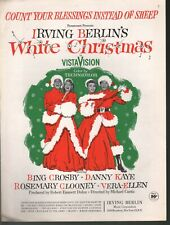 Count Your Blessings Instead of Sheep Bing Crosby Rosemary Clooney Sheet Music