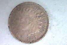1871 Indian Head Cent Penny - Pitted / Damage