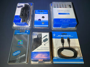 Sony PSP Component AV Cable USB Analog Stick UMD Case Screen Protector Accessory