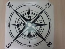 Distressed Compass hood vinyl decal sticker fits to WRANGLER Rubicon