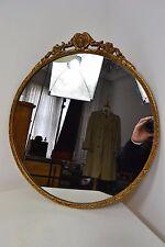 Vintage década de 1960 Estilo Regencia oro Espejo Enmarcado UK Made