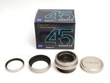Contax Carl Zeiss Tessar T* 45mm / F2.8 #8841520 MM Type 100 Years Limited