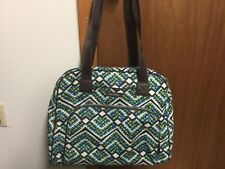 Vera Bradley Go Anywhere Rain Forest, carry-on, over the shoulder, purse,luggage