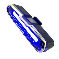 LED Feu Arriere pour Velo Rouge et Bleu Lampe D'Urgence Multifonctionnel Ultr V2