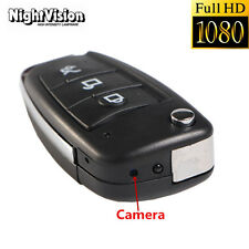 Mini 1080P HD SPY DVR Hidden Camera Car Key Night Vision DV Video Recorders Cam
