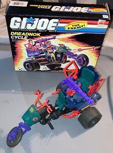 1987 Hasbro GI Joe Dreadnok Tri Cycle set in original box