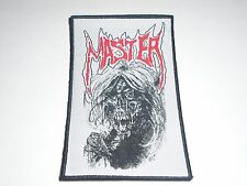 MASTER DEATH METAL WOVEN PATCH
